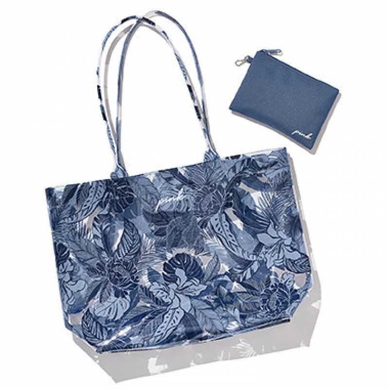 Blue Navy Tote, Victoria's Secret PINK