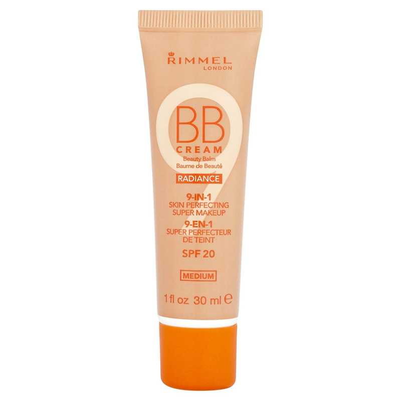 RIMMEL 9-IN-1 SKIN PERFECTING BB CREAM RADIANCE - MEDIUM