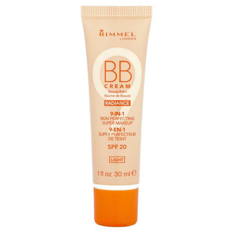 RIMMEL 9-IN-1 SKIN PERFECTING BB CREAM RADIANCE - LIGHT