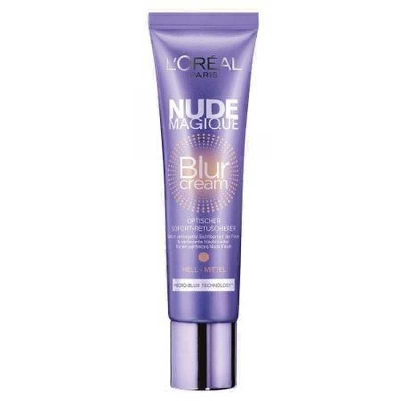 B.B Cream L'oreal Nude Magique Blur Cream - Medium/Dark