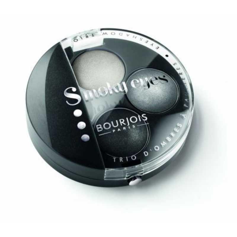 Paleta 3 Farduri Bourjois Smoky Eyes - 01 Gris Dandy, 4.5 gr