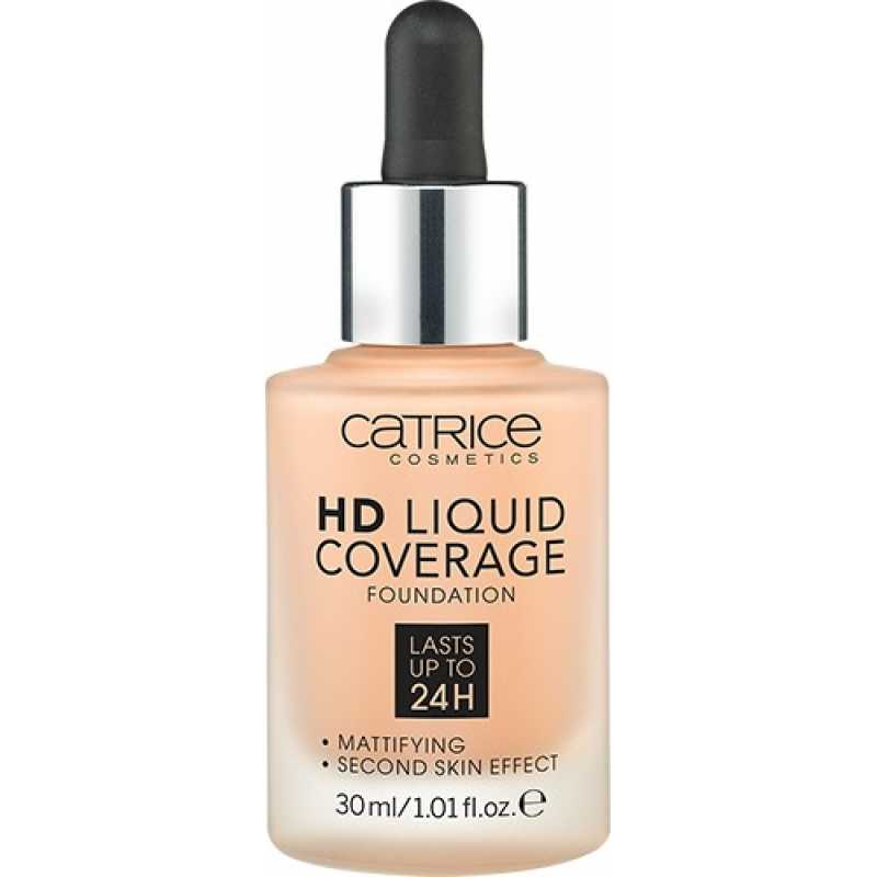 Fond De Ten HD Liquid Coverage, 30 Sand Beige, Catrice, 30 ml