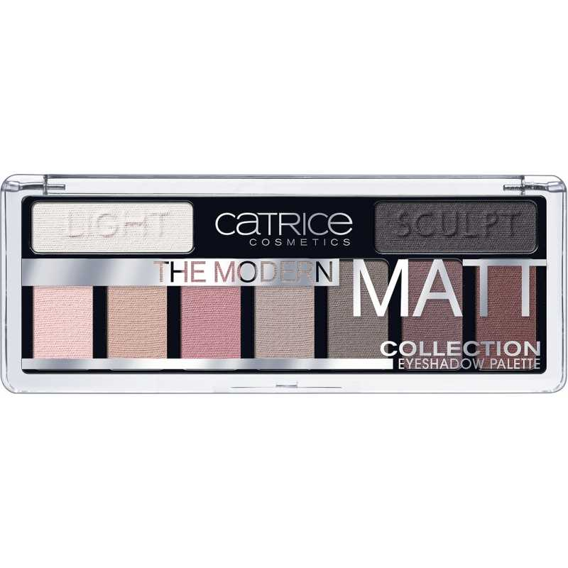 Paleta farduri de pleoape Modern Matt Collection, Catrice, 10g