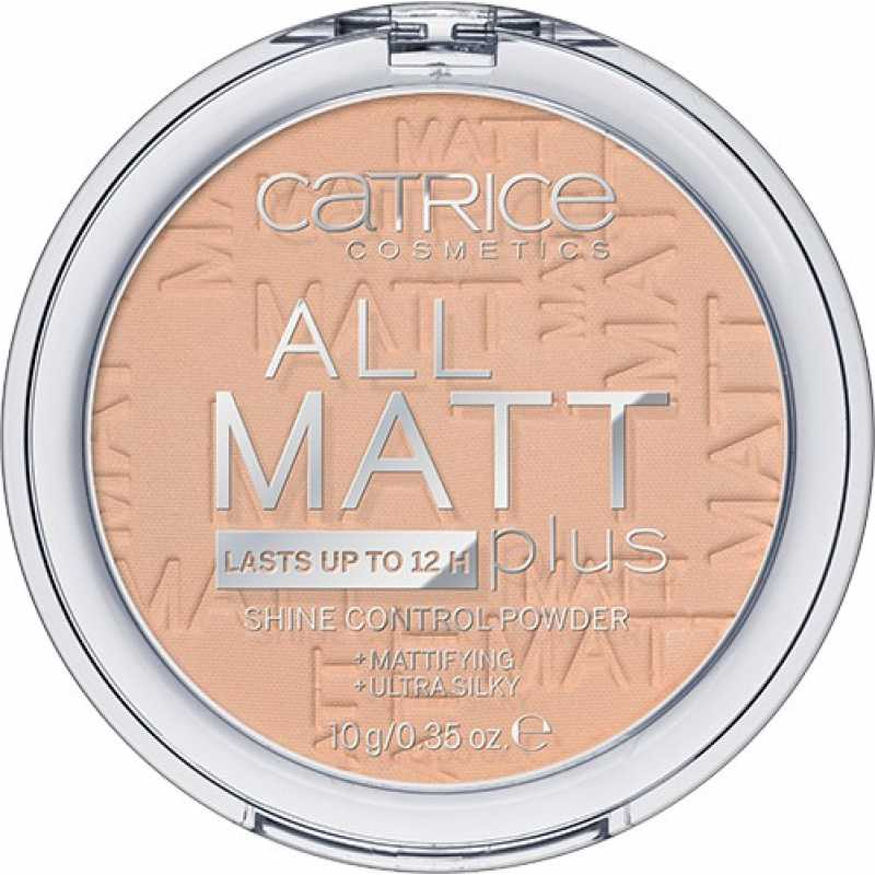 Pudra All Matt Plus – Shine Control 025, Catrice, 10g
