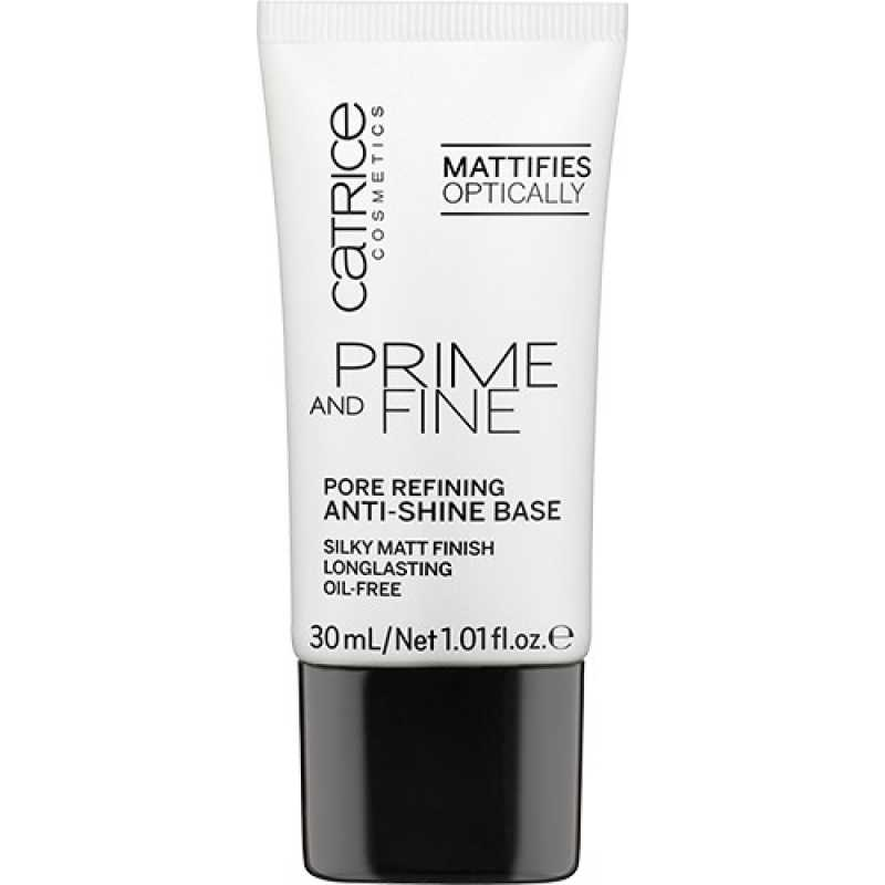 Prime And Fine Pore Refining And Anti-Shine Base, Catrice, 30 ml