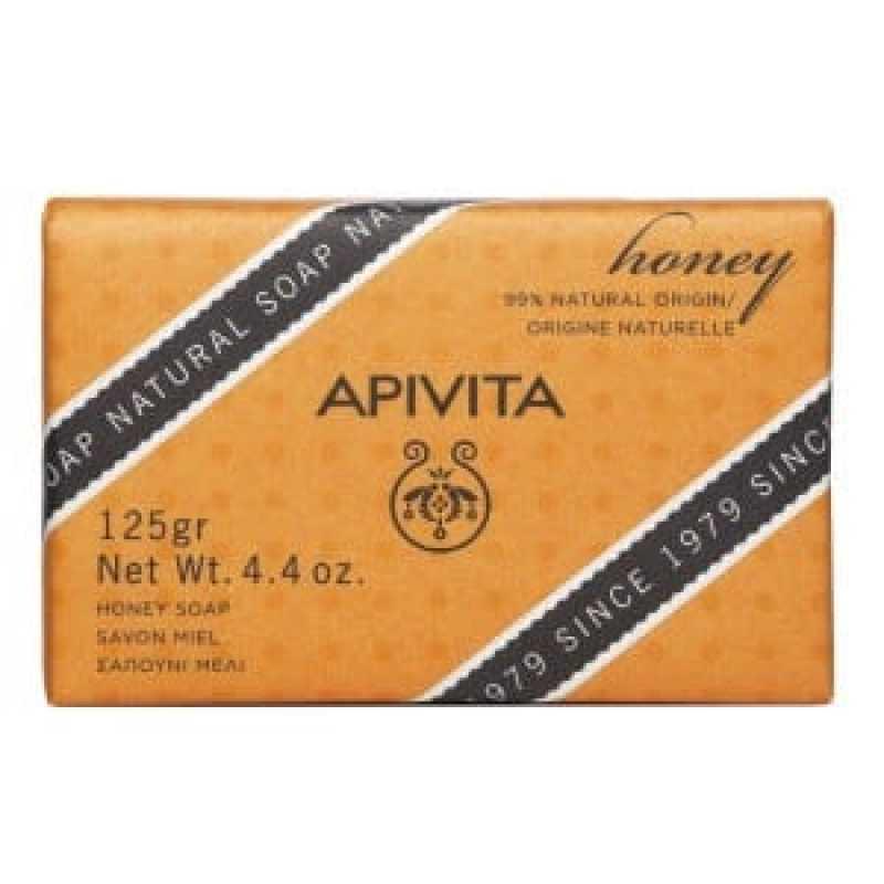 Sapun natural cu miere si lavanda, Apivita, 125g