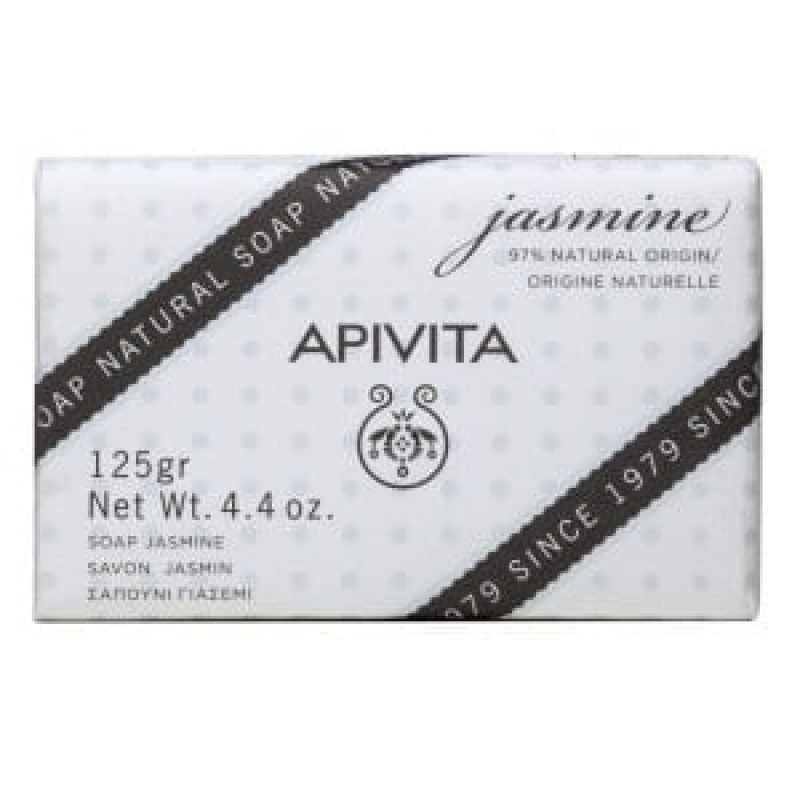 Sapun natural cu iasomie si lavanda, Apivita, 125g
