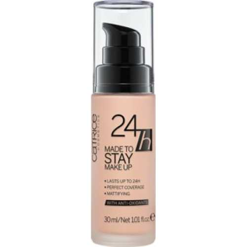24h Made To Stay Make Up, 10 Nude Beige - Catrice, 30 ml