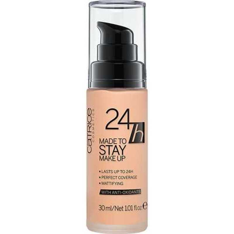 24h Made To Stay Make Up, 15 Vanilla Beige - Catrice, 30 ml