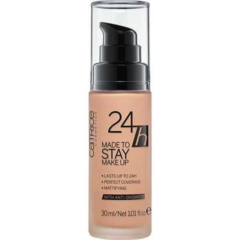 24h Made To Stay Make Up, 25 Warm Beige - Catrice, 30 ml