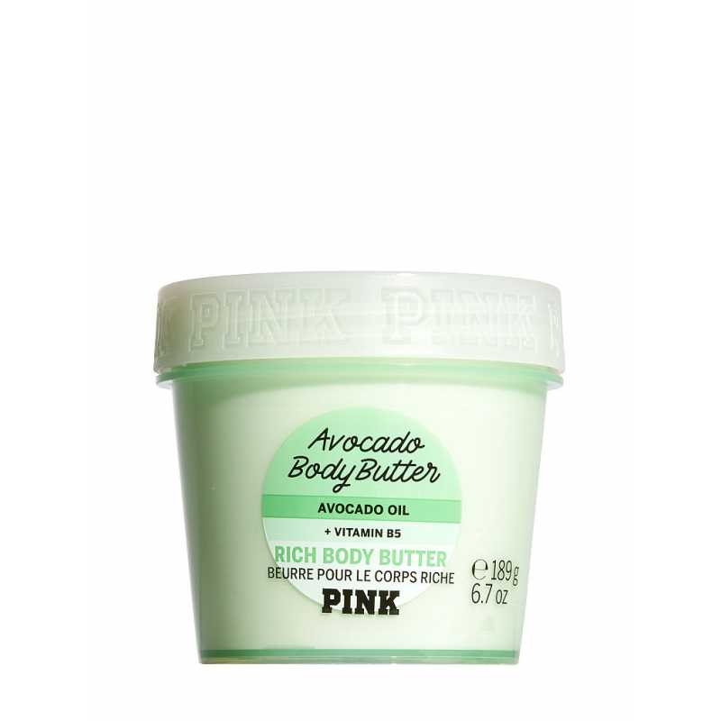 Unt de corp Body Butter Avocado, Victoria's Secret PINK, 189g