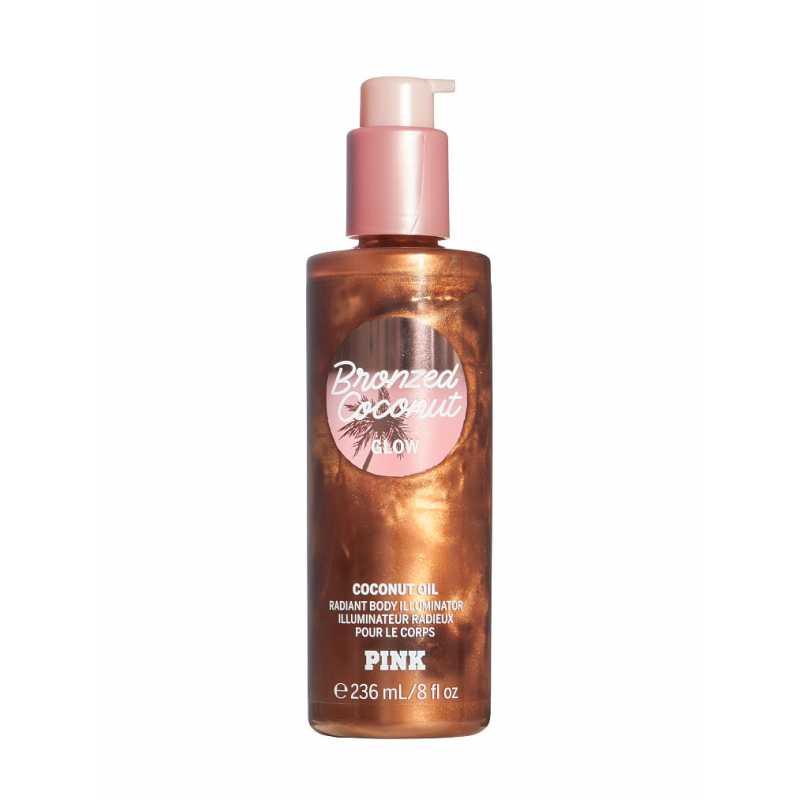Ulei pentru bronzare, Bronzed Coconut Glow, Victoria's Secret PINK, 236 ml