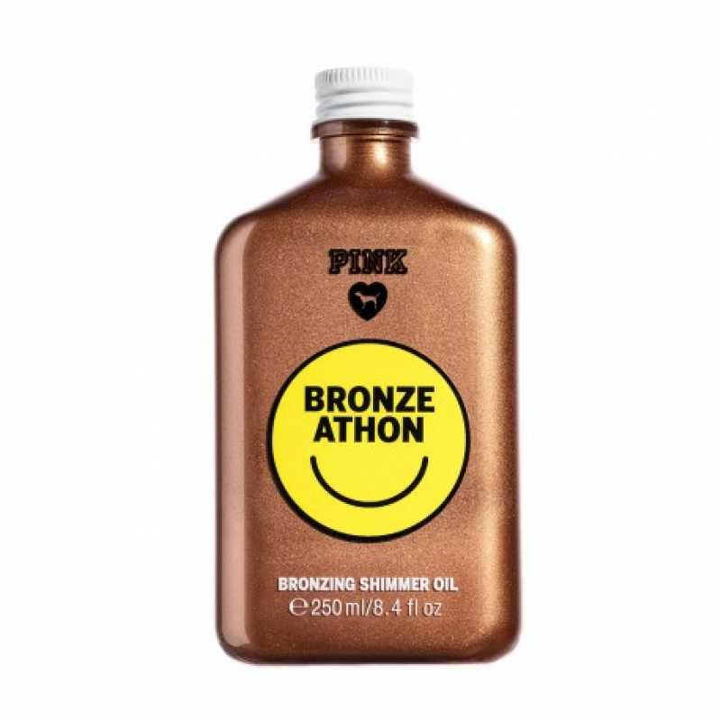 Ulei De Plaja Cu Sclipici, Bronze Athon, PINK Victoria's Secret, 250 ml