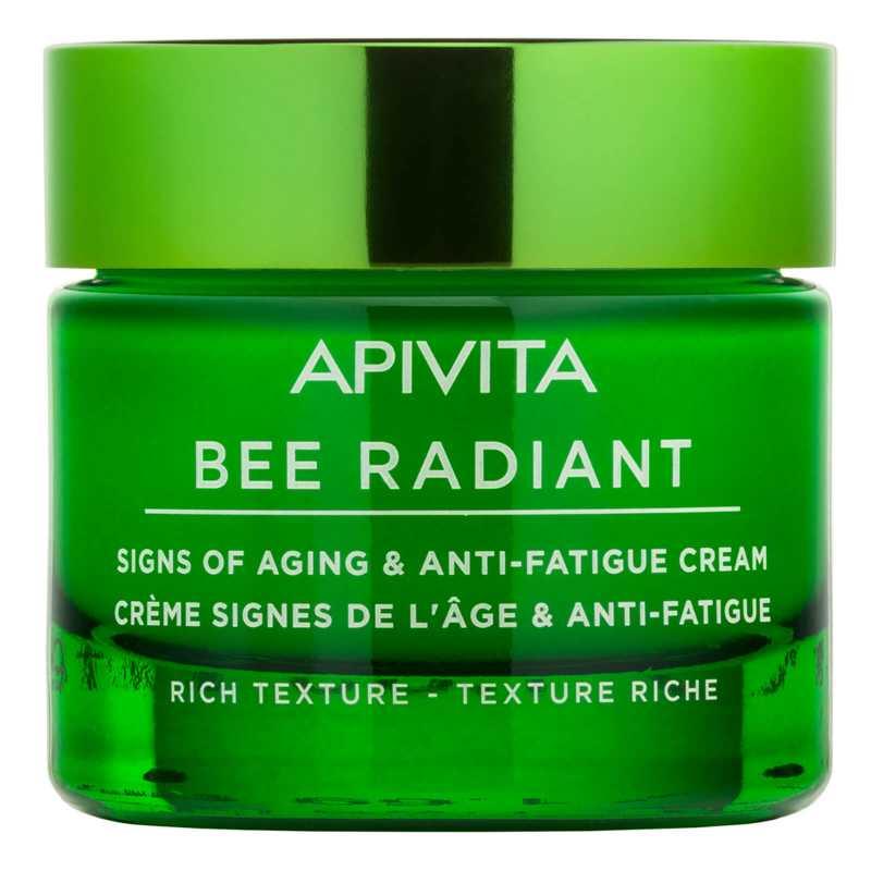Creme de fata anti-imbatranire cu Bujor alb si propolis, Bee Radiant, Apivita, 50 ml