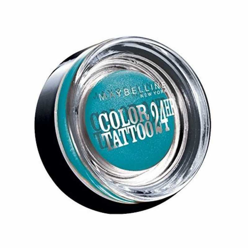 Fard de pleoape Maybelline NY Color Tattoo, 20 Turquoise Forever, 4g