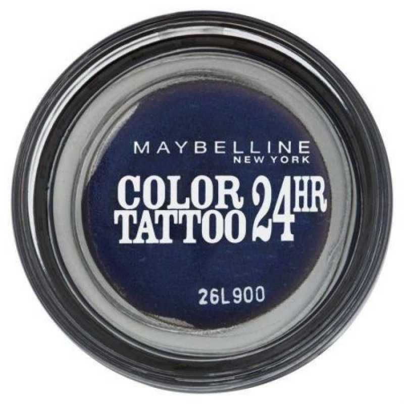Fard de pleoape Maybelline NY Color Tattoo, 25 Everlasting Navy, 4g