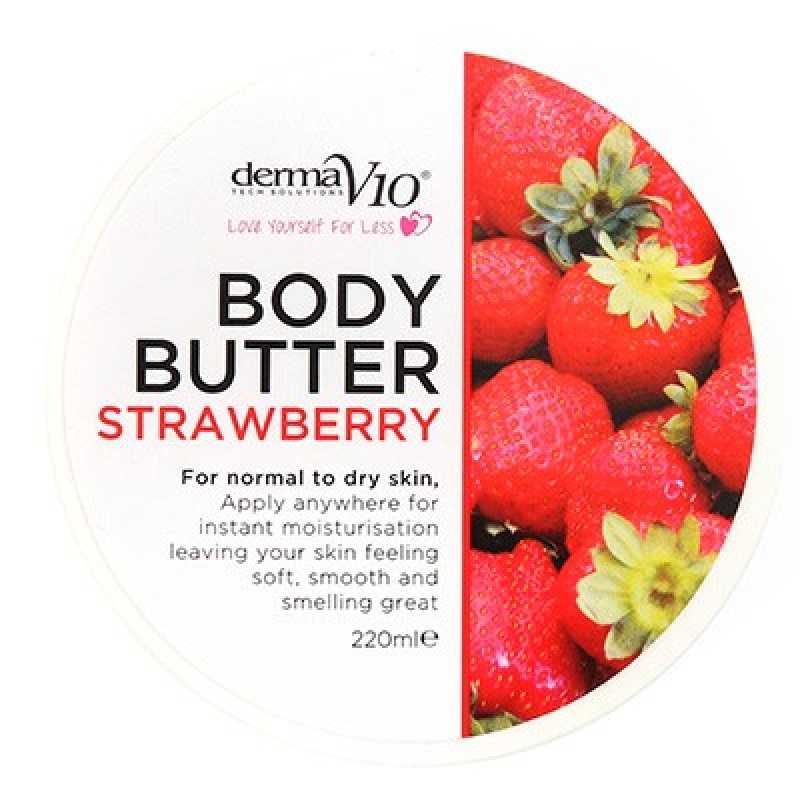 Unt De Corp - Strawberry, Derma V10, 220 ml