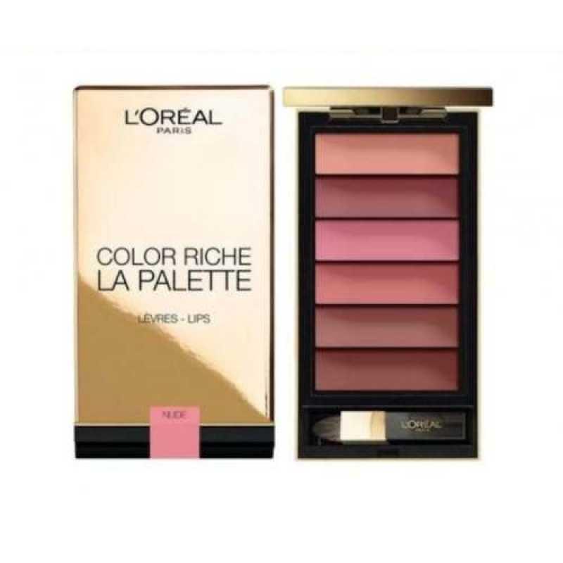 Paleta pentru buze L'Oreal Color Riche La Palette Lips NUDE