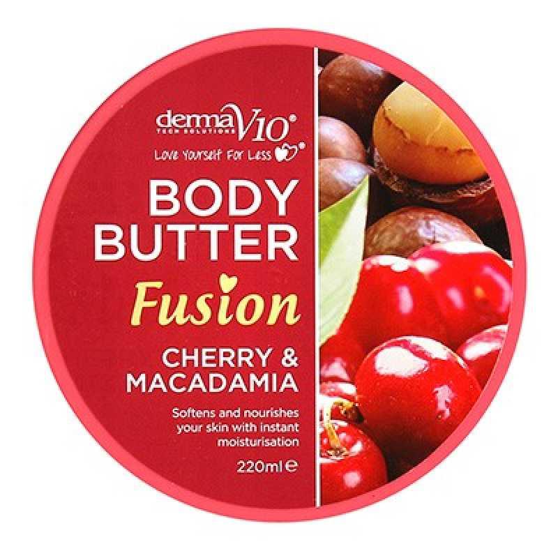 Unt De Corp Fusion - Cherry & Macadamia, Derma V10, 220 ml