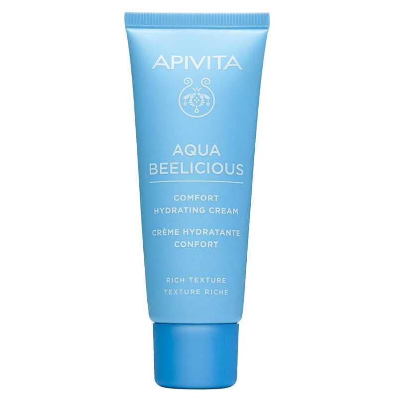 Crema de fata, Comfort Hydrating cu Flori si Miere Aqua Beelicious, Apivita, 40 ml