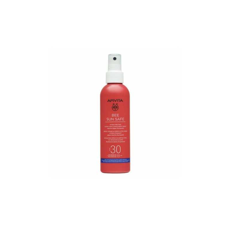 Spray cu protectie solara SPF 30, Apivita, 200 ml