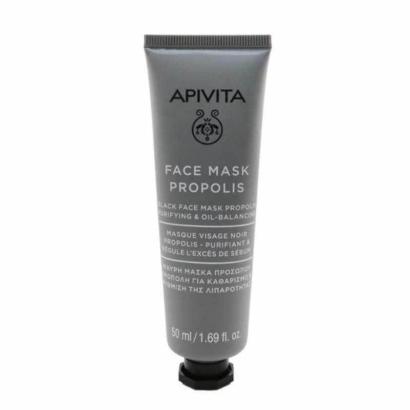 Masca Faciala, Face Mask Propolis Purifying Oil Balancing, Apivita, 50 ml