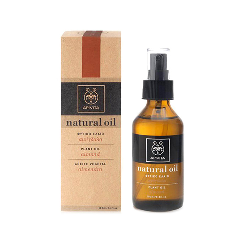 Ulei natural cu migdale, Almond Oil, Apivita, 100 ml