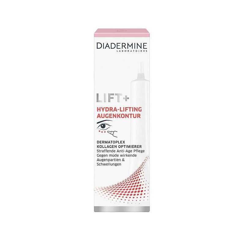 Crema antirid pentru conturul ochilor, Diadermine Lift, 15 ml