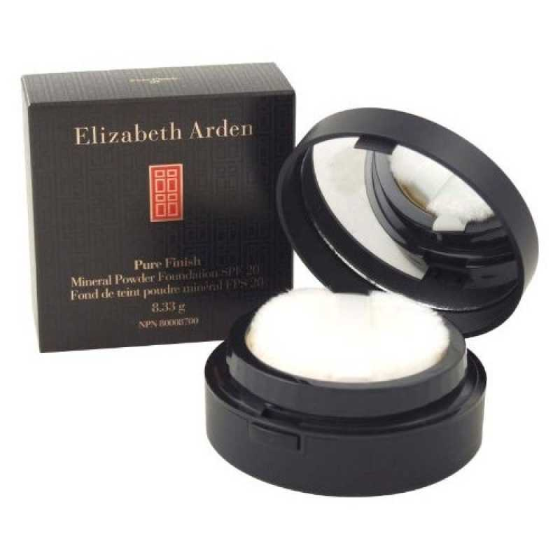 Pudra Elizabeth Arden Pure Finish Mineral Powder Foundation, 8.33g, nuanta 03