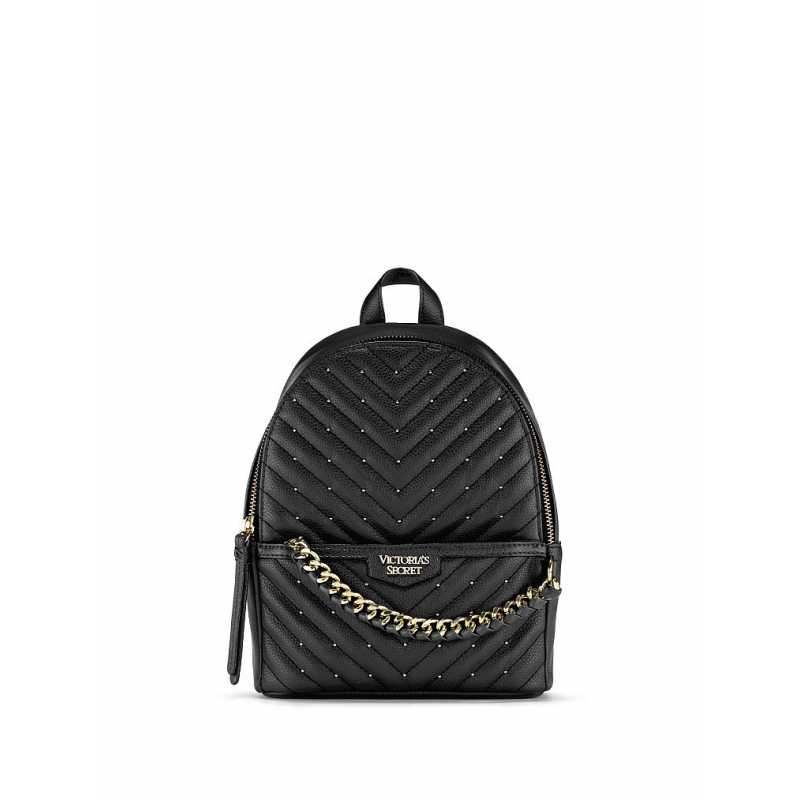 Rucsac, Victoria's Secret, Backpack Black Luxe