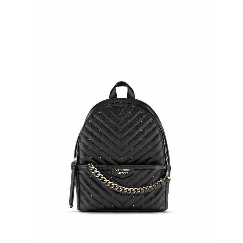 Rucsac, Victoria's Secret, Backpack Black Luxe