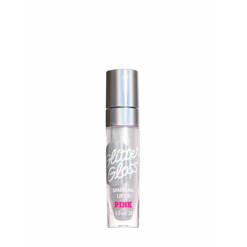 Ulei de buze cu sclipici Glitter Gloss, Whipped Vanilla, PINK, Victoria's Secret, 5.5 ml