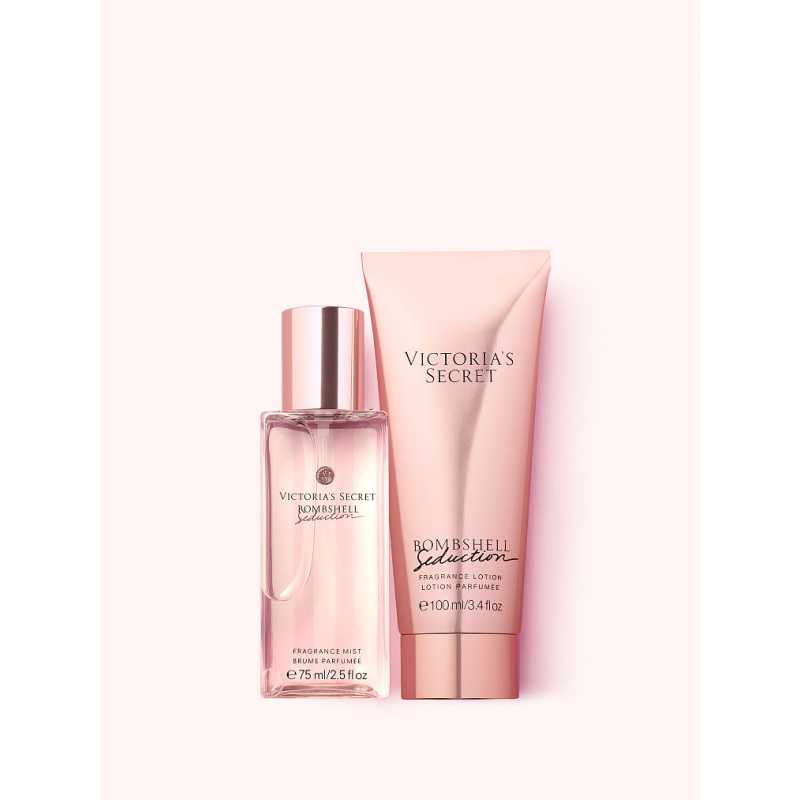 Set Cadou Victoria Secret, Bombshell Seduction Gift Set, Spray corp 75 ml + Body Lotion 100 ml