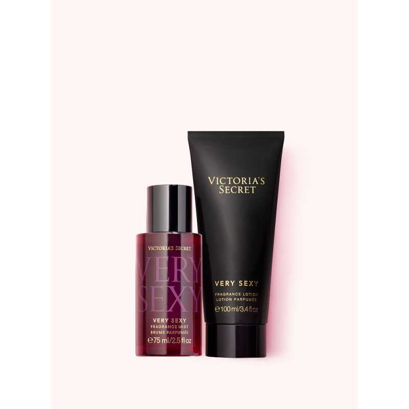 Set Cadou Victoria Secret, Very Sexy Gift Set, Spray corp 75 ml + Body Lotion 100 ml