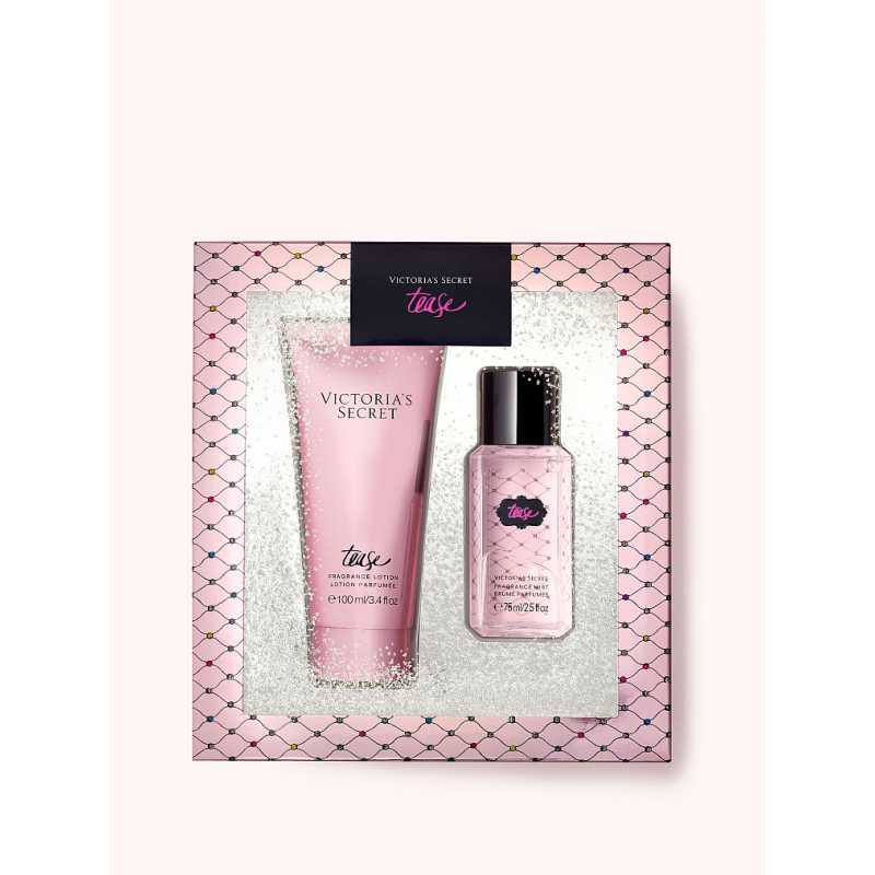 Set Cadou Victoria Secret, Tease Gift Set, Spray corp 75 ml + Body Lotion 100 ml