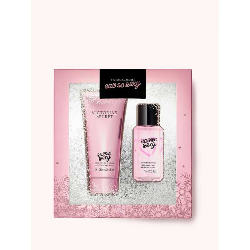 Set Cadou Victoria Secret, Eau So Sexy Gift Set, Spray corp 75 ml + Body Lotion 100 ml