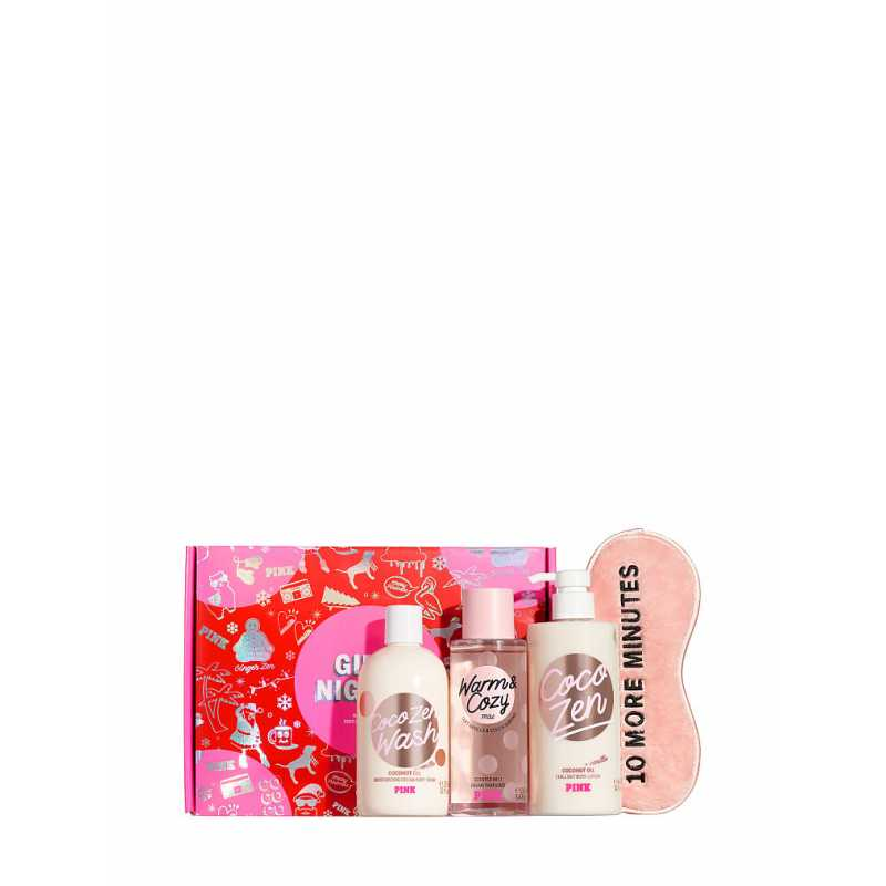 Set Cadou Victoria Secret, GirlsNight Box, Body Wash 355 ml + Body Lotion 414 ml + Spray de corp 250ml