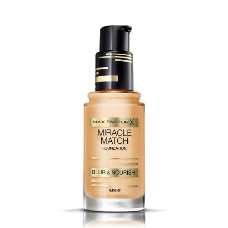 Fond de ten Max Factor Miracle Match 47 Nude, 30 ml