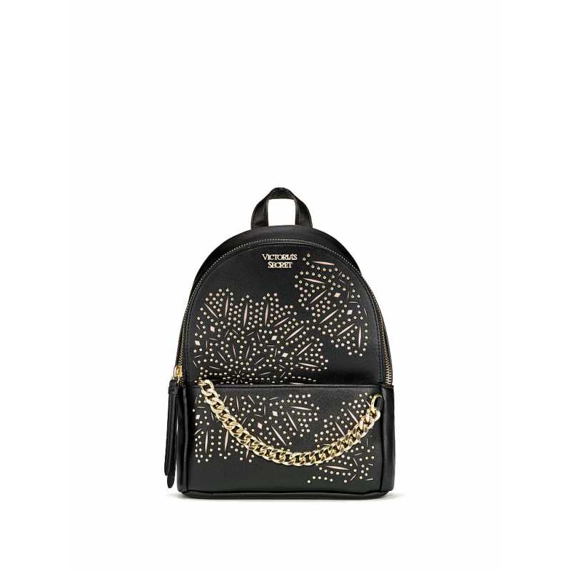 Rucsac, Victoria's Secret, Backpack Floral Black