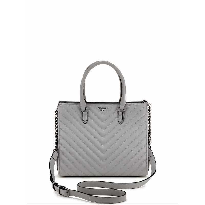 Geanta, Victoria's Secret V-Quilt Grey