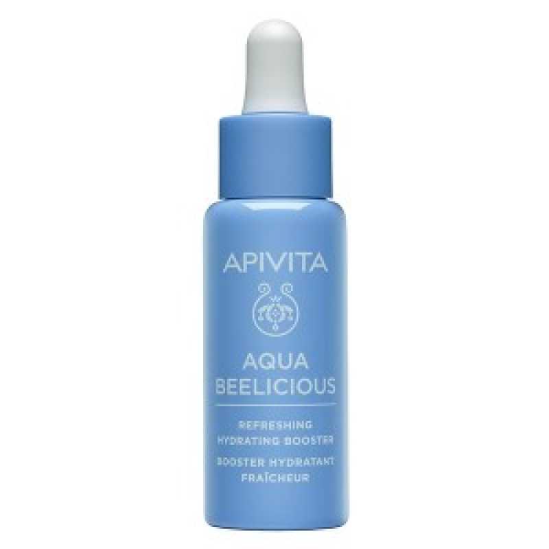 Ser Facial, Booster revigorant și hidratant, Aqua Beelicious, Apivita, 30 ml