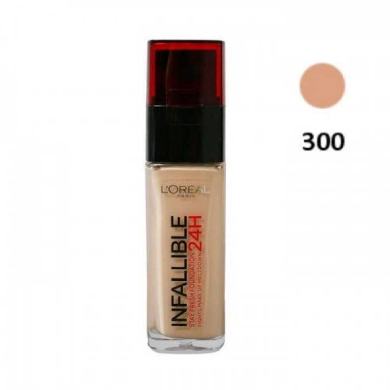 Fond De Ten L'oreal Infaillible - 300 Amber, 30 ml