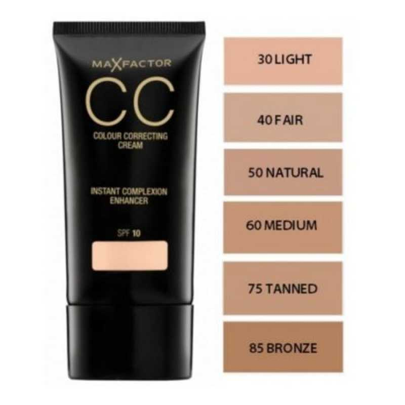 Crema CC Max Factor Colour Correcting Cream 75 Tanned, 30 ml