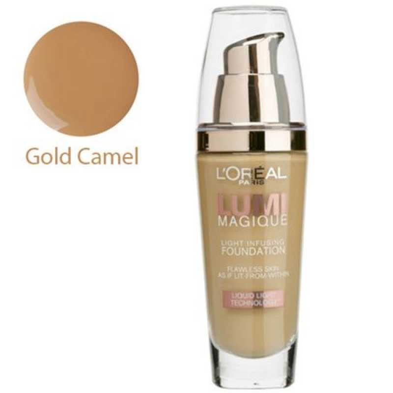 Fond de ten L'Oreal Lumi Magique - Gold Camel, 30 ml
