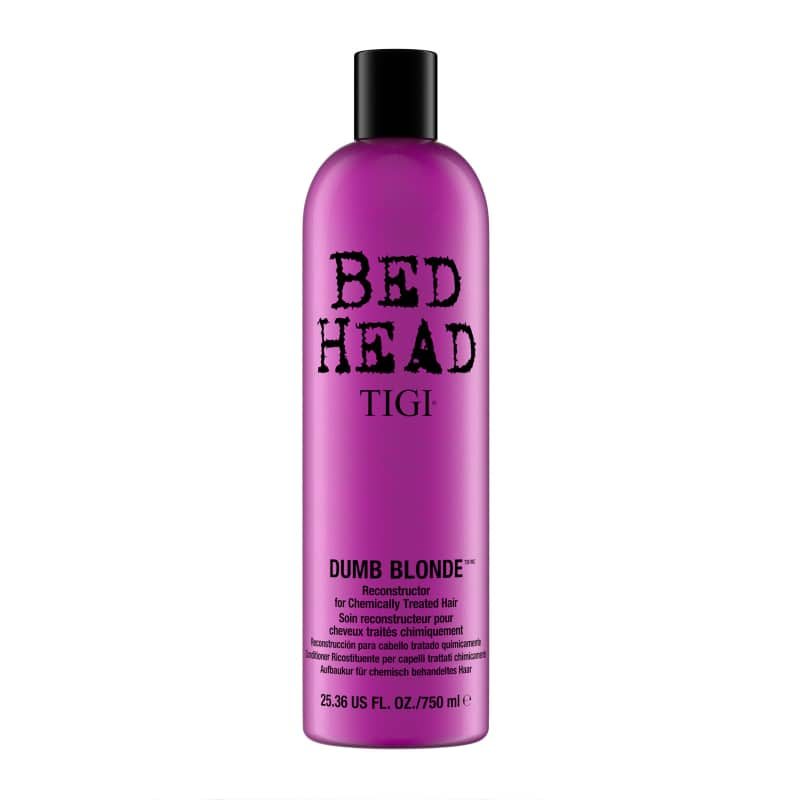 Balsam regenerator pentru parul deteriorat Bed Head Dumb Blonde by Tigi, 750 ml