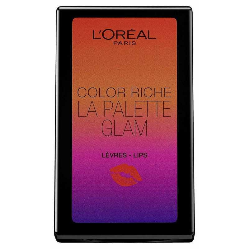Paleta pentru buze L'Oreal Color Riche La Palette Matte LIPS, 6g